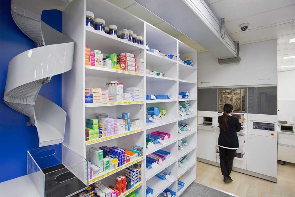 Ảnh minh hoạ về 1 góc của Trung tâm Thuốc Central Pharmacy