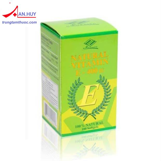 Natural Vitamin E 400 PVT