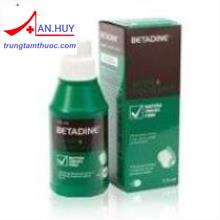 Betadine 1% 125ml Mouthwash