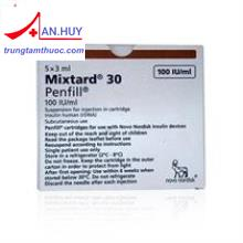 Mixtard 30 Penfill 100IU/ml 3ml