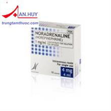 Noradrenalin base Aguettant 1mg/ml