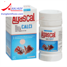 Agascal - Calci từ tảo biển/boor sung canxi/trungtamthuoc.com