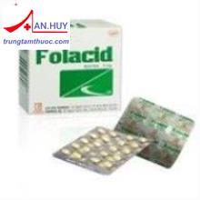 Folacid Tab.5mg                                                                              22,000vnđ
