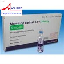 Marcain Spinal Inj 0.5% Amp./gây tê/trungtamthuoc.com
