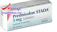 Thuốc Prednisolon STADA 5mg - Thuốc giảm đau chống viêm