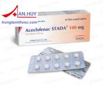 Acelofenac Stada tab.100mg - Thuốc chống viêm xương khớp