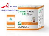 Thuốc  Acetylcystein Boston  - Thuốc có tác dụng làm loãng đờm