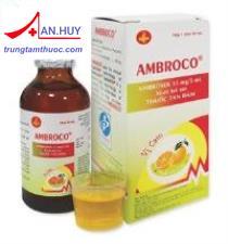 Thuốc Ambroco viên - Thuốc điều trị viêm phế quản, hen phế quản