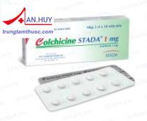Colchicine Stada tab.1mg - Thuốc điều trị cơn gout cấp