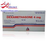 Thuốc Dexamethason 4mg điều trị viêm khớp, viêm dây chằng
