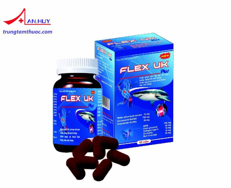 Thuốc Flex uk plus 60 viên là thuốc gì? giá bao nhiêu tiền?