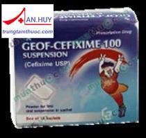 Thuốc GEOF-Cefixime 100