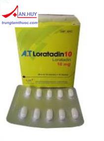 A.T Loratadin 10 Loratadin 10mg-Thuốc chống dị ứng