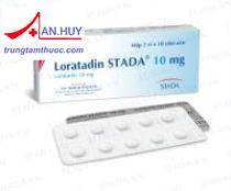 Loratadin stada 10mg - thuốc chống dị ứng và bệnh nổi mày đay