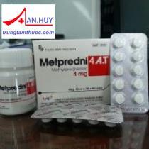Metpredni 4 A.T Thuốc chống viêm ức chế miễn dịch
