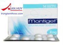Thuốc Montiget Tab.4mg - Thuốc điều trị cơn hen suyễn