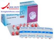 Thuốc Nudipyl 400mg điều trị đau  nửa đầu , suy giảm trí nhớ