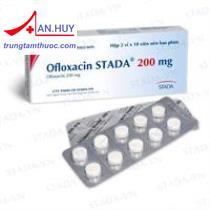 Thuốc Ofloxacin stada tab.200mg