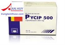Thuốc Pycip 500mg  -  thuốc kháng sinh  điều trị nhiễm khuẩn