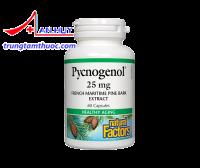 Pycnogenol ngăn ngừa oxy hóa, gốc tự do, duy trì sức khỏe tốt