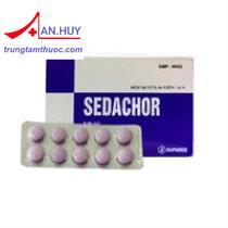 Thuốc Sedachor - Thuốc hạ sốt giảm đau, không gây buồn ngủ