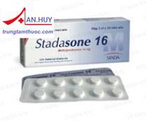Stadasone 16 - thuốc chống viêm, giảm miễn dịch, viêm khớp dị ứng