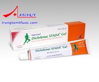 Diclofenac STADA Gel - Thuốc bôi giảm đau chống viêm xương khớp