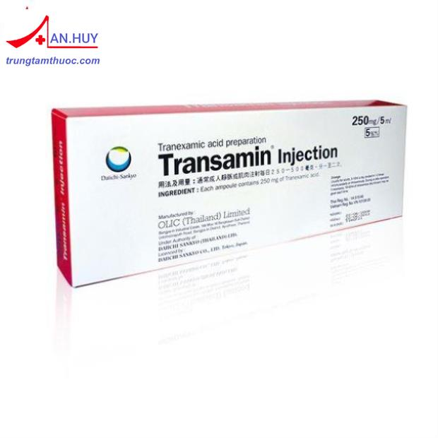 Transamin Inj.250mg/5ml