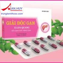 Giải độc gan Xuân Quang / Trị viêm gan/ Trungtamthuoc