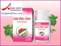 Giải độc gan Xuân Quang chữa viêm gan, thanh nhiệt/ Trungtamthuoc.com